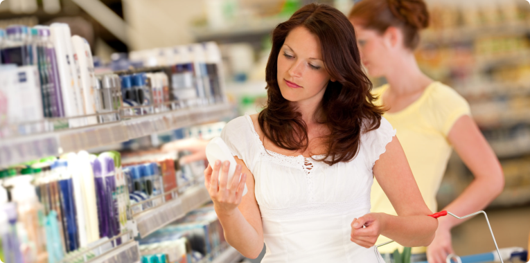 customers buying medicines on pharmacy